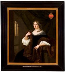 Portret van Catharina Hunthum (1636-1706)