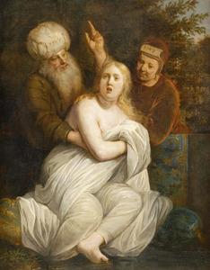 Abram [Abraham] geeft Hagar over in de macht van Sarai [Sara] (Genesis 16:5-6)