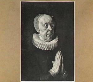 Portret van Anna Anthonius