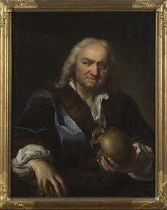 Portret van Martin Mytens (1648-1736), vader van de kunstenaar