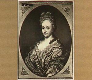 Portret van Hester Catharina Weremeus (1678-1758), echtgenote van Albert Willem Hoeth