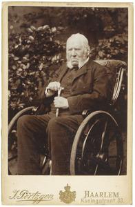 Portret van Chretien Jean Gerard de Booij (1820-1901)
