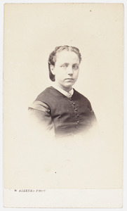 Portret van Mw. Johanna Carolina Hendrika Mees (1834-1868)