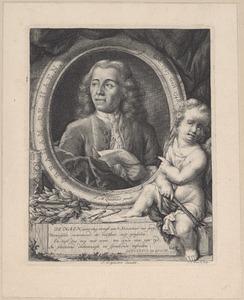 Portret van Abraham de Haen (1707-1748)
