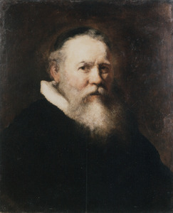 Portret van Eleazar Swalmius (1582-1652)