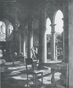 Zuilengang in toscane