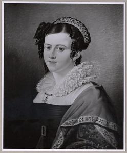 Portret van een vrouw, waarschijnlijk Hendrika Susanna Walkart (1788-1873)
