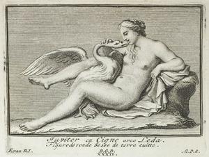 Jupiter in de gedaante van een zwaan met Leda (pl. XXXII)