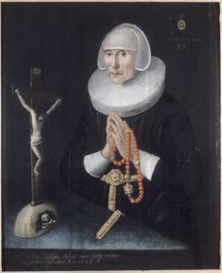 Portret van Helena Leydeckers (1569-....)