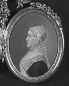 Portret van een vrouw, mogelijk Sophia Maria Half-Wassenaer (1727-1802)