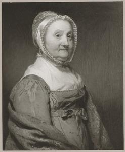 Portret van Antonia Johanna Charlotte de Lille (1746-1832)
