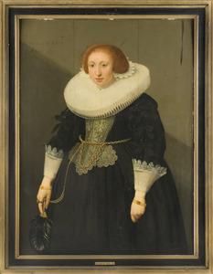 Portret van Rijnburgh Sebastiaansdr de Jonge (....-1679)