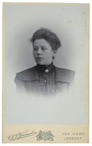 Portret van Maria Muller