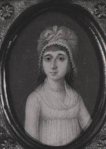 Portret van Gerharda Catharina Henr. Tichler ( -1793)