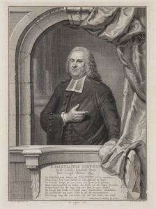 Portret van Christiaan Tisteyn (1695-1780)