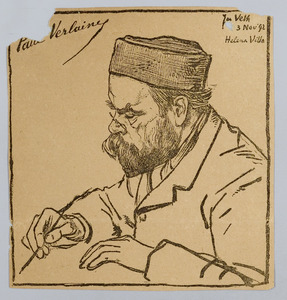 Portret van Paul Verlaine
