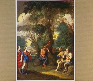 De wedstrijd tussen Apollo en Pan voor Tmolus