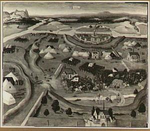 Het beleg van Pavia in 1525
