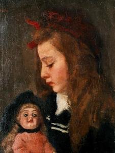 Portret van Henriëtte Thueré (1893-?)