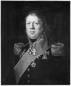 Portret van Albert Dominique Trip van Zoudtlandt (1776-1835)