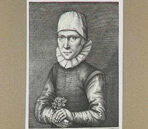 Portret van Eva Vliege (1575-1626)