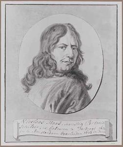 Portret van Nicolaes Maes (1634-1693)