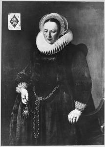 Portret van Janneken Campherbeke (1565-1630)