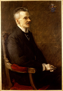 Portret van Dirk Kolff (1858-1909)