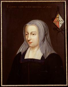 Portret van Elisabeth Hose