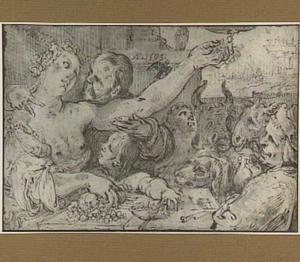Allegorische voorstelling (Pomona?)
