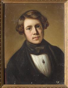 Portret van mogelijk Jan Antonie Snellebrand (1827-1886)