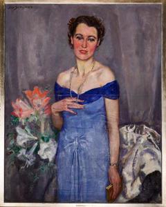 Portret van mevrouw D. Heijmeijer van Heemstede-Hemelrijk (1905-1986)
