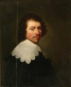 Portret van mogelijk Nicolaas Kien (1600-1648)