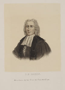 Portret van Hieronymus David Gaubius (1702-1780)