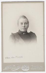 Portret van mw. Van der Tuuk