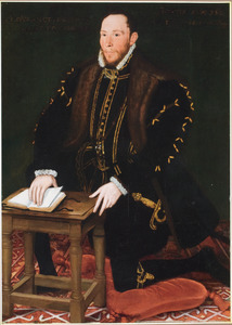 Portret van Thomas Percy, 7th Earl of Northumberland  (1528-1570)