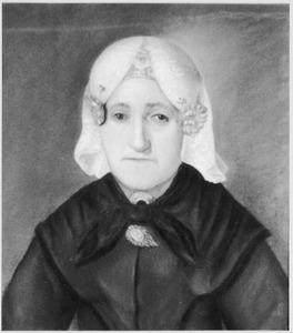 Portret van Anna Haga (1799-1865)