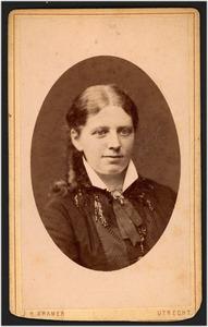 Portret van Geertruida Maria de Stoppelaar Blijdesteijn (1851-1902)