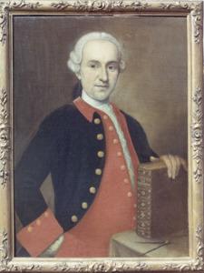 Portret van Ernst Willem Berg (1721-1777)