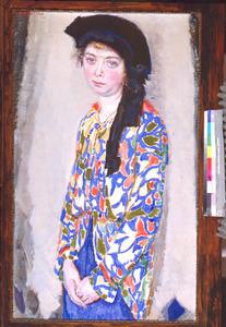 Portret van Mien de Bruijne-Proos (1881-1972)