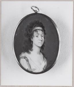 Portret van Jacoba Maria Boogaert van Alblasserdam (1769-1806)