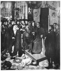 Het oordeel van Cambyses: de aanhouding van Sisamnes