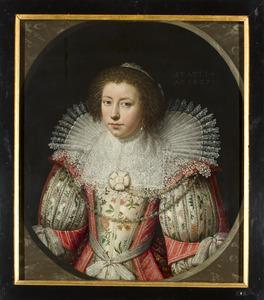 Portret van Elisabeth van Wassenaer (1613-1662)