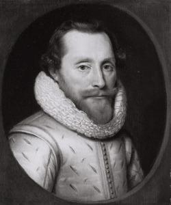 Portret van een man, ten onrechte genaamd Maurits van Oranje-Nassau (1567-1625)