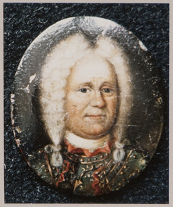 Portret van een man, mogelijk Maurits Lodewijk II van Nassau-la Lecq ( -1740)