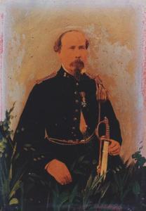 Portret van Guillaume Dominique Hoek (1822-1894)