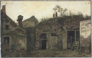 Het  zuidwestelijke bastion van kasteel Vredenburg in Utrecht