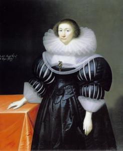 Portret van Elizabeth Aldersey, echtgenote van  Thomas, 1st Baron Coventry