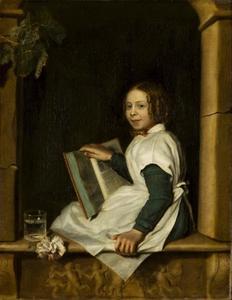Portret van Frederika Reijnders (1839-?)