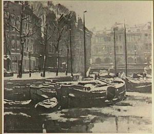 Amsterdamse Gracht in de winter